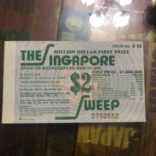 The Singapore sweep