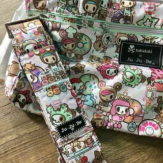 Eeuc Jujube Donutella Sweet Shop DSS Starlet with Messenger Strap