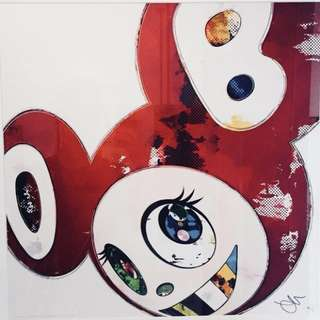 DOB Red - Takashi Murakami Limited Print