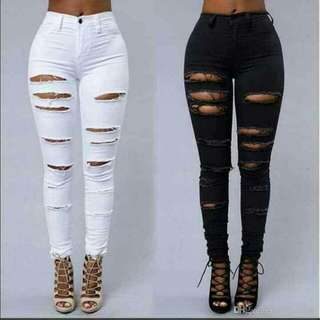 Tattered jeans (25-32)