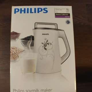 Philips 豆漿機 soy milk & soup maker 100% new