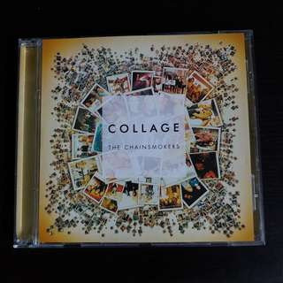THE CHAINSMOKERS Collage CD EP
