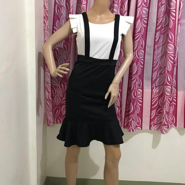 """26"""" Jumper Skirt Peplum"""