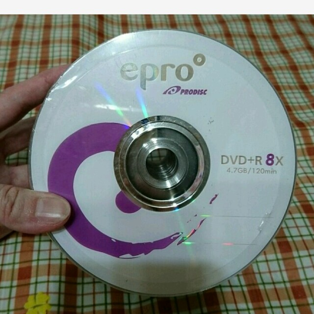 50片裝DVD-R