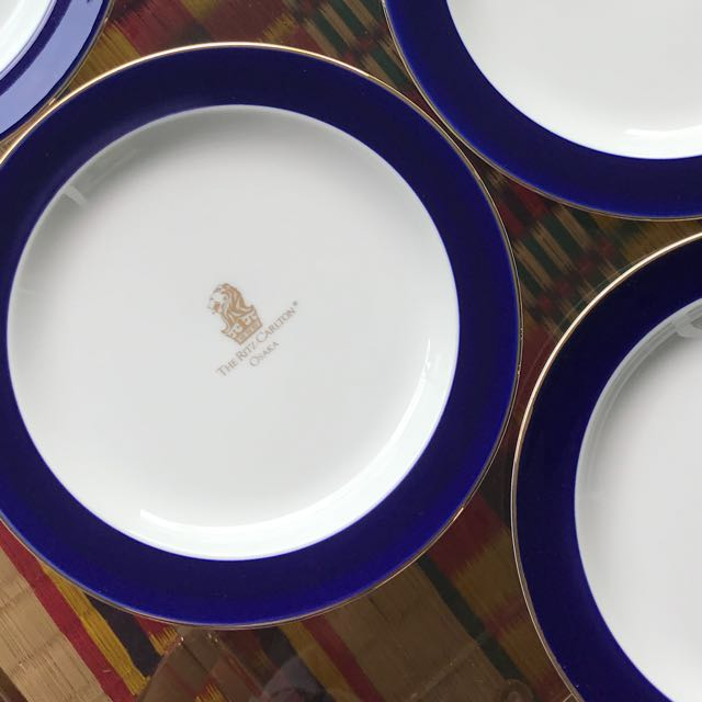 5Star The Ritz Carlton Hotel Plates set