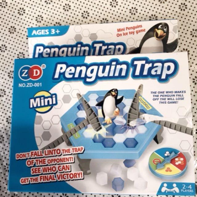 企鵝破冰桌遊