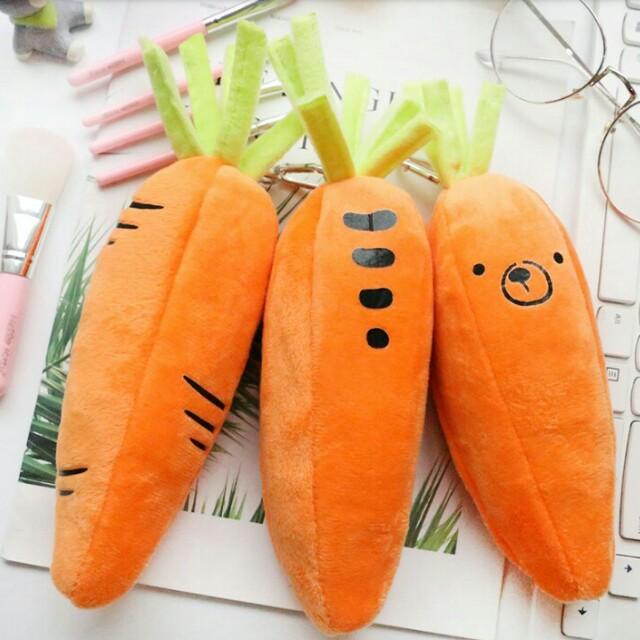 胡蘿蔔筆袋