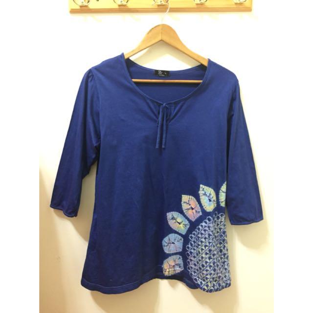 日本帶回🇯🇵手染太陽花純棉上衣