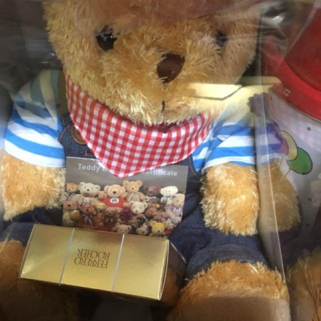 金莎巧克力 泰迪熊