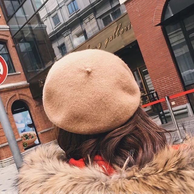 貝雷帽 畫家帽-挺版 小臉神器
