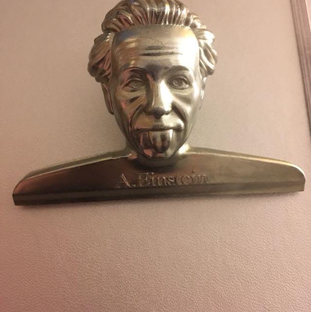 西班牙 Doiy 愛因斯坦 不鏽鋼 夾子