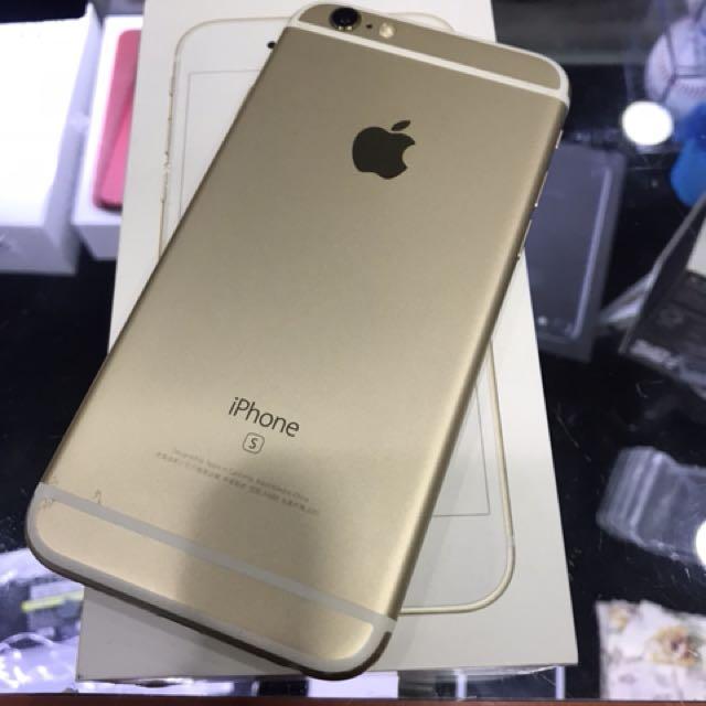 中古 iPhone 6S 16G 金色