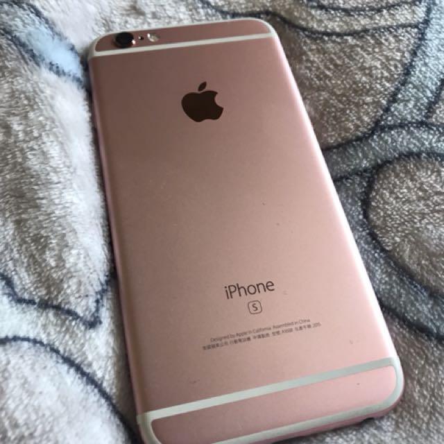 中古 iPhone 6S 16G 玫瑰金