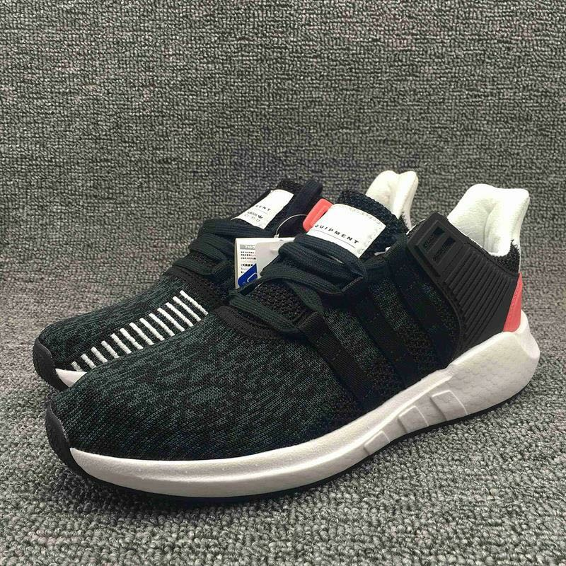 Adidas EQT Support 93/17 'Core Black/ Turbo Red'