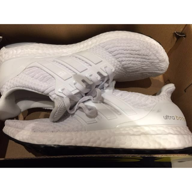 Adidas ultraboost all white