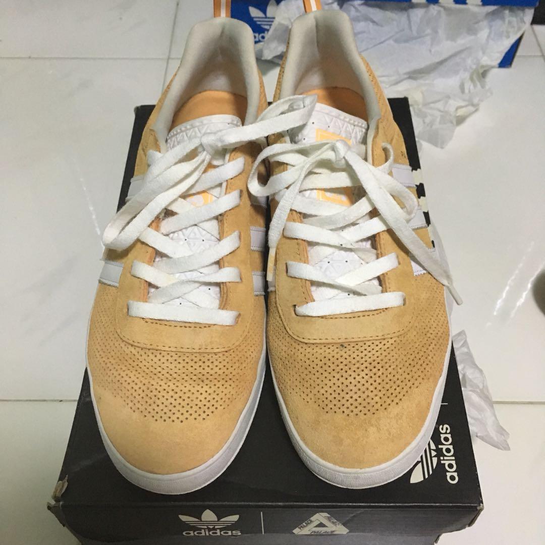 a00a49e1 Adidas X Palace Pro Suede Pumpkin US8.5/UK8, Men's Fashion, Footwear ...