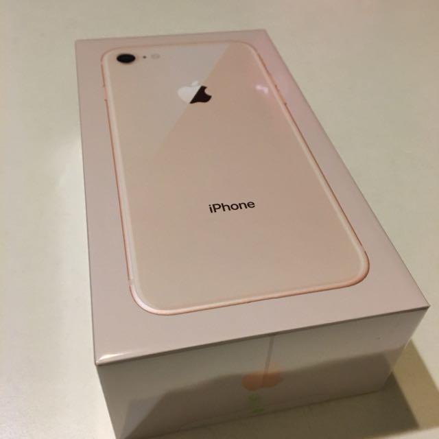 過年換新機📱全新未拆封蘋果Apple iPhone 8 64G 金