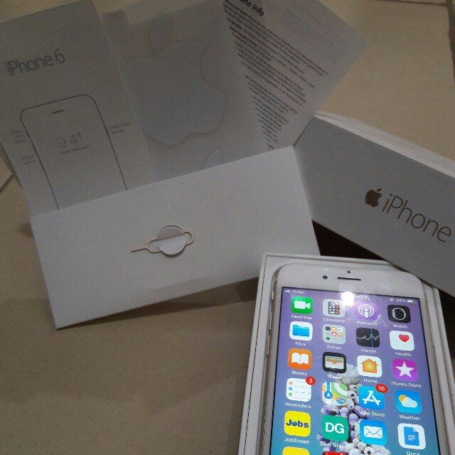 Authentic iPhone6 Gold 128gb openline