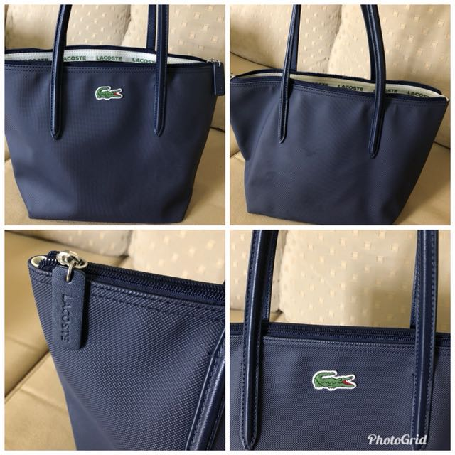 b1ad5d4263 Authentic Lacoste Tote Bag, Women's Fashion, Bags & Wallets on Carousell