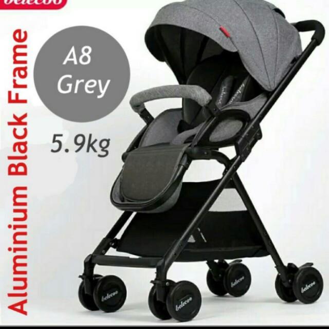 Baby Stroller 5.9kg near full recline stroller / pram kids lightweight umbrella