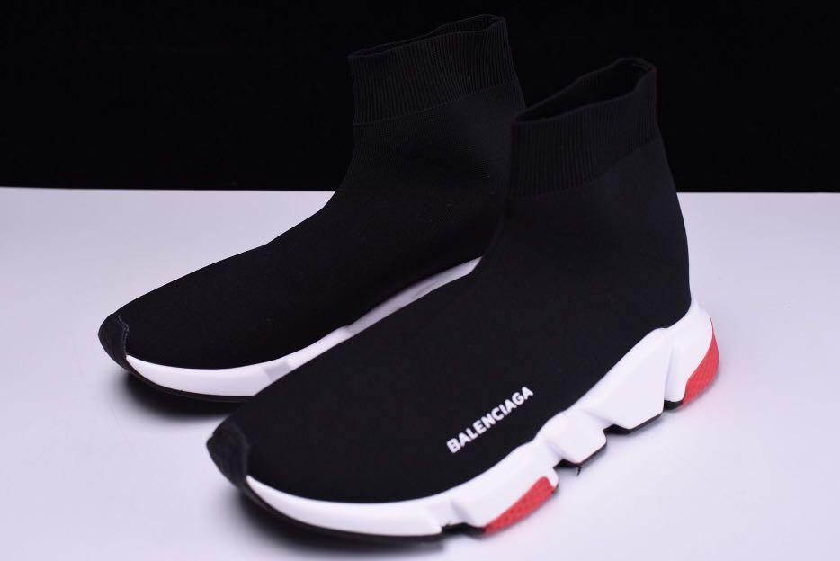 Balenciaga Speed Trainer 'Black/White/Red'