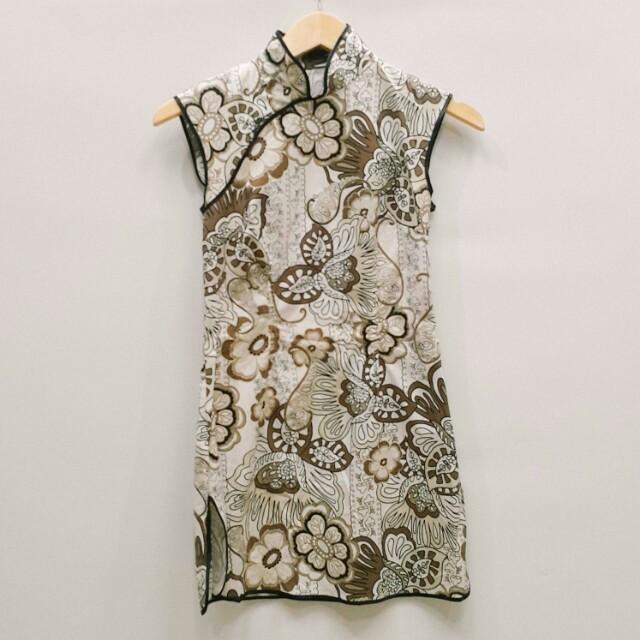 Batik shanghai dress