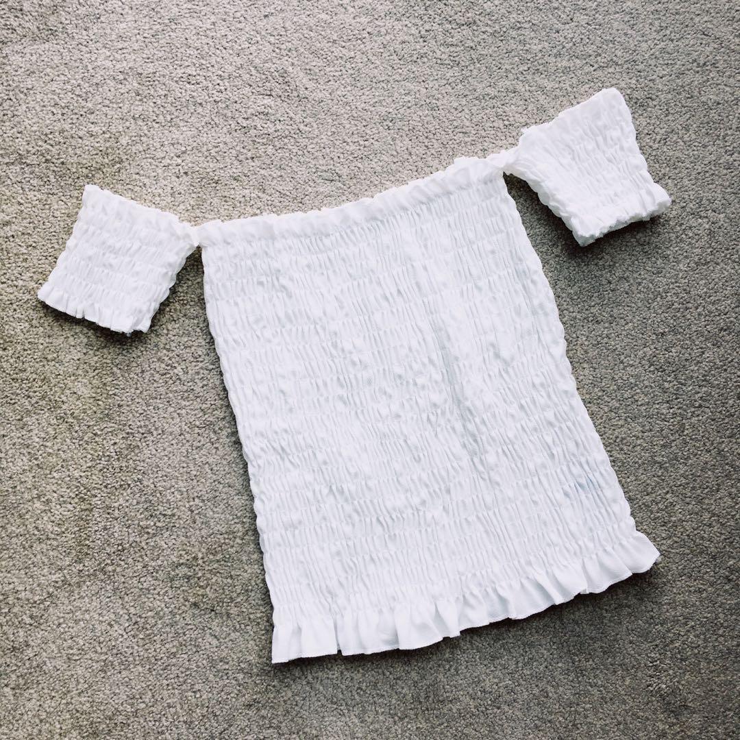 Brand New Off-Shoulder (White)