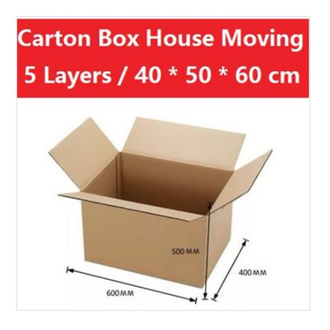Carton Boxes For Moving Or Storage Everything Else On Carousell