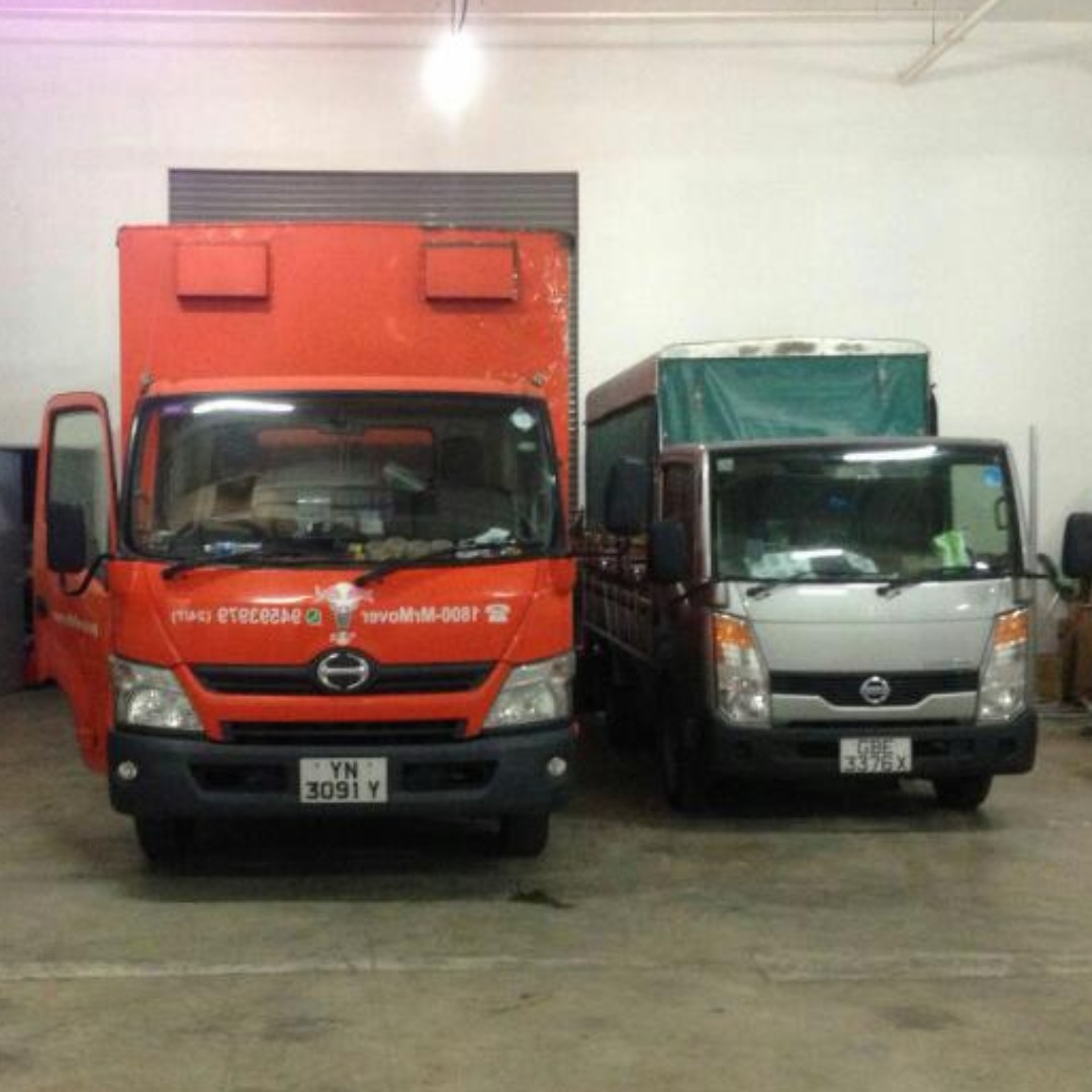 MrMover Sg MOVING and DELIVERY CHARGES FOR LORRY SERVICES IN