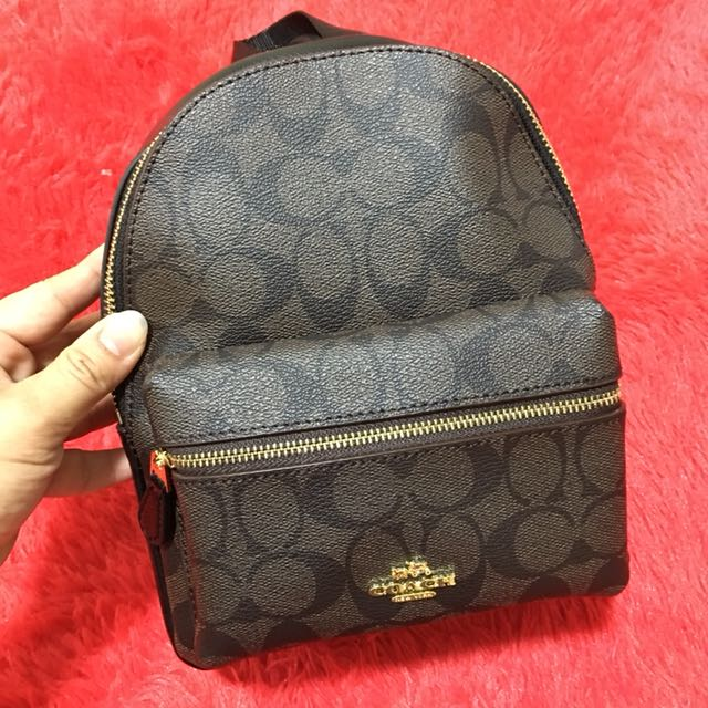 1282b88c397a ... promo code for coach signature mini charlie backpack in pebble leather  f38302 luxury bags wallets on