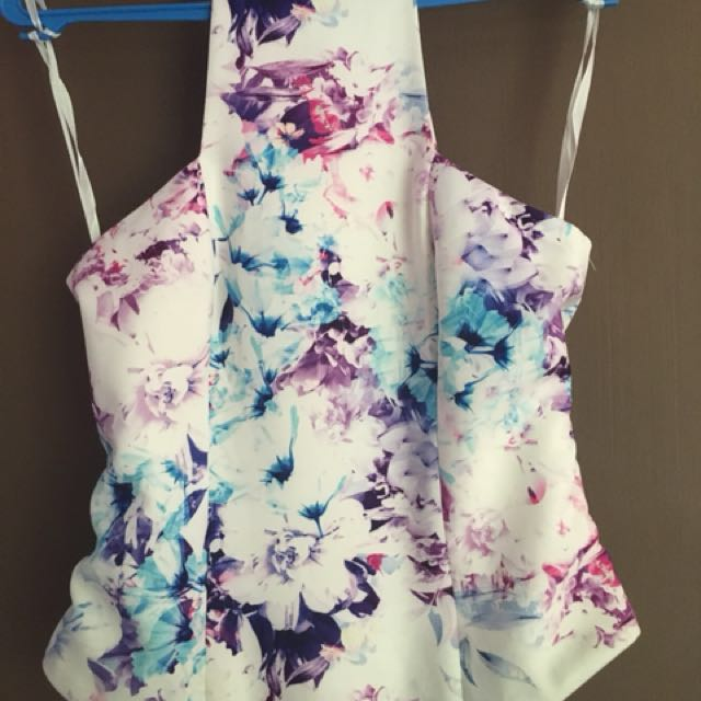 Colourful Hulter Top