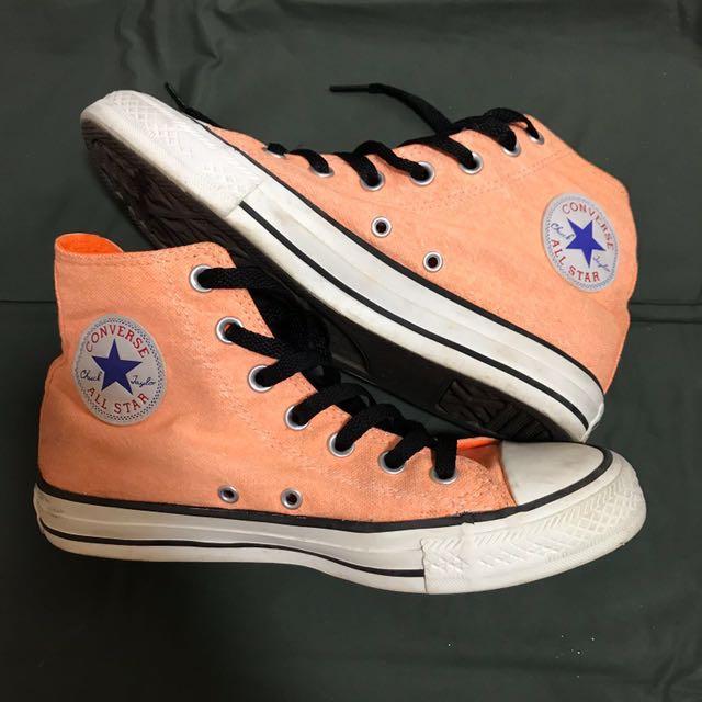 4c2e04366867 Converse Chuck Taylor - Neon Orange