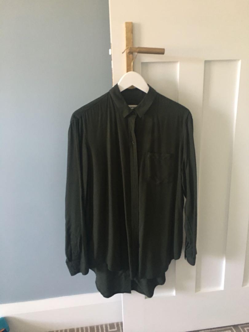 Country Road dark khaki shirt