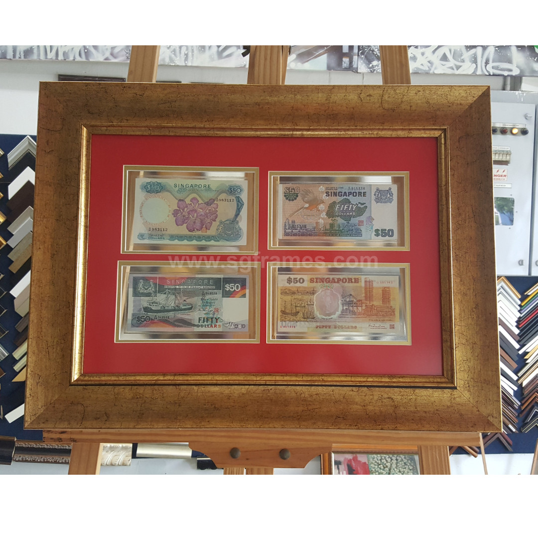 Currency / Coin Framing Service Best in Singapore SGFrames.com ...