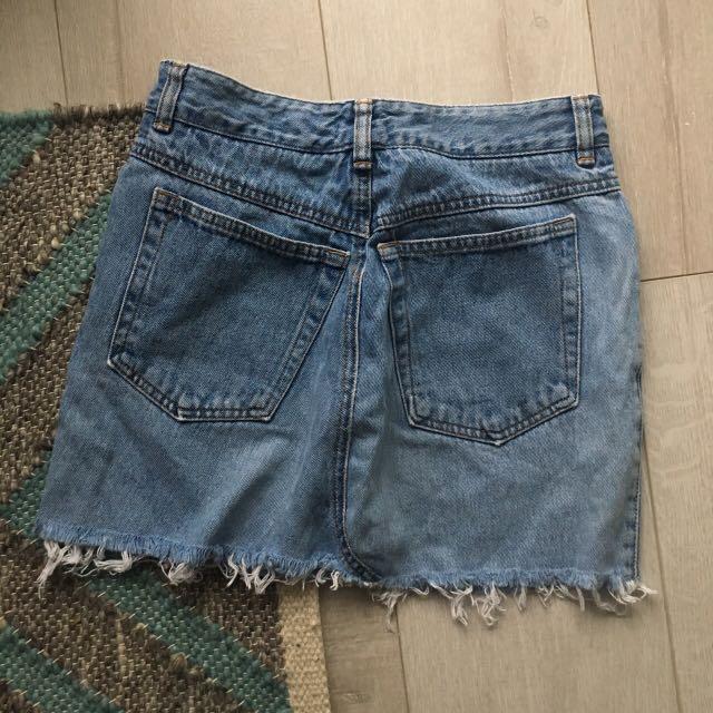 DKNY Vintage Denim Skirt