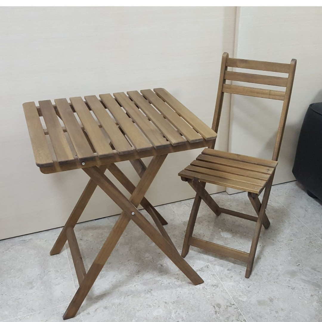 Ikea askholmen  For Sale: Ikea ASKHOLMEN Table and chairs, Furniture, Tables ...