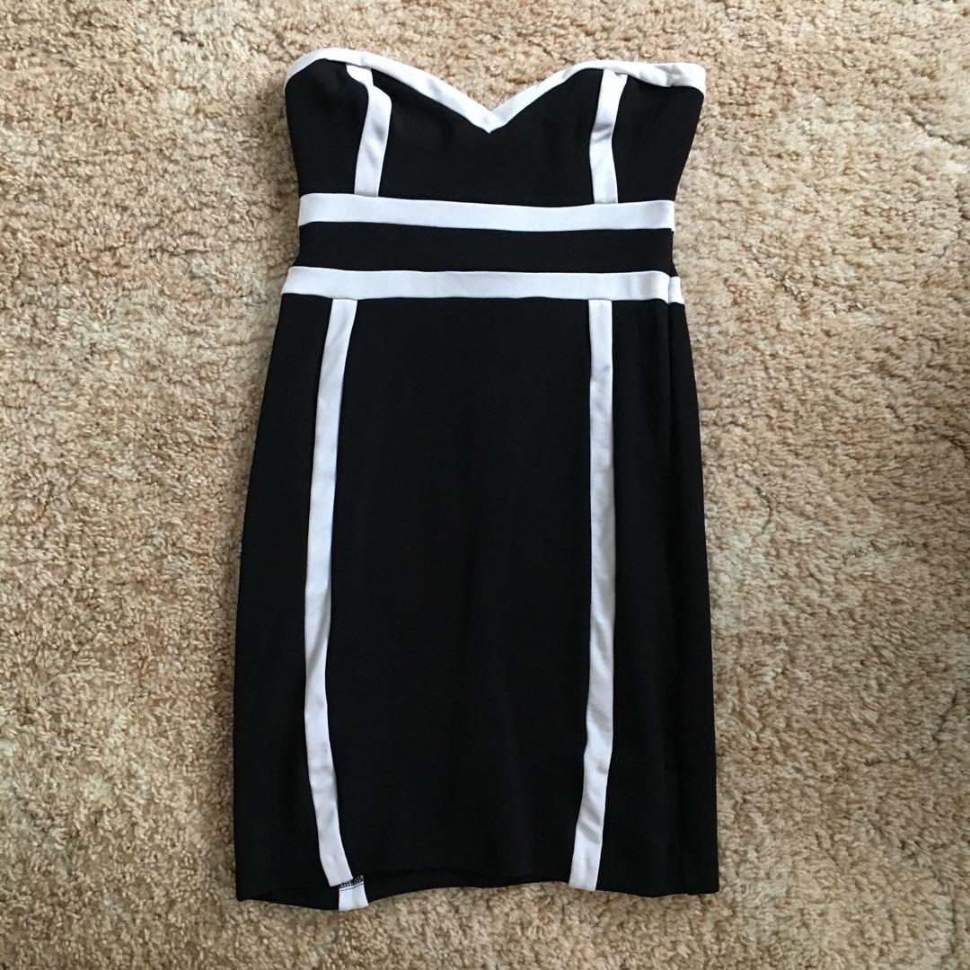 Forever new size 8 strapless dress