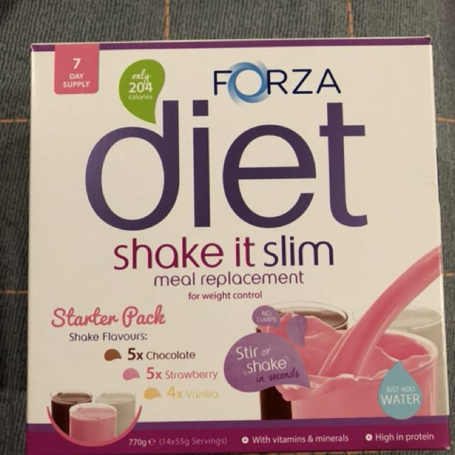 Forza diet shake it slim