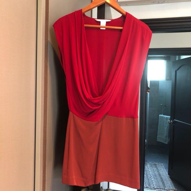 Gorgeous DVF Silk Dress