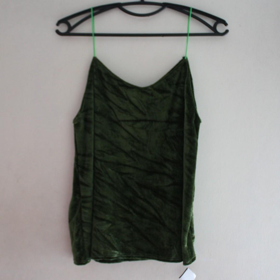 Green Sleeveless