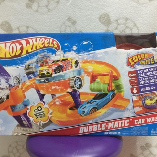 Car Wash Hot Wheels Games