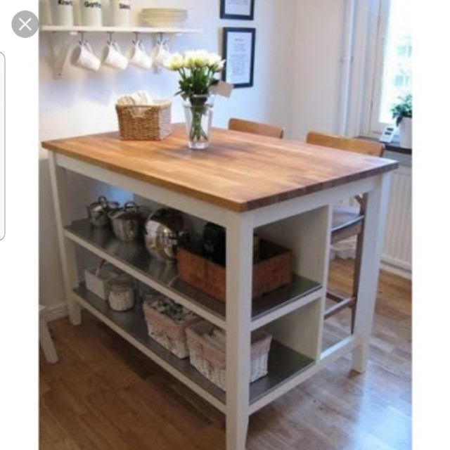 Ikea Stenstorp Kitchen Island Bench, Home & Furniture