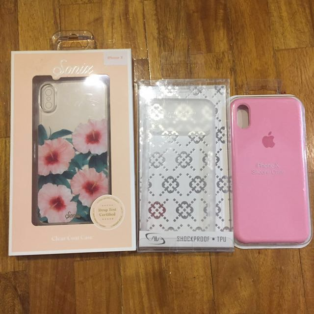 iPhone X cases (branded and new)