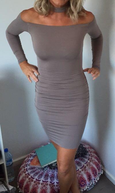 Kookai long sleeve dress size 1