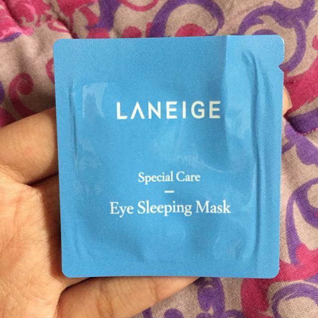 Laneige special care - eye sleeping mask