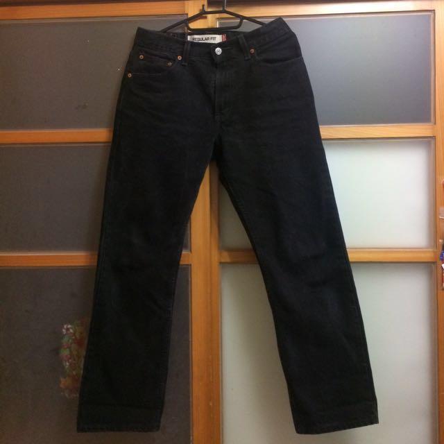 #新春八折 Levis 505 30腰 古著 黑色牛仔褲