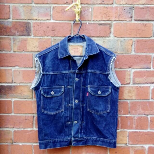 Levis/Big E Cut-off Jacket | Size M/40