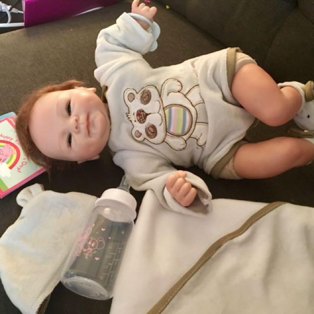 LifeLike Newborn Baby Boy Doll
