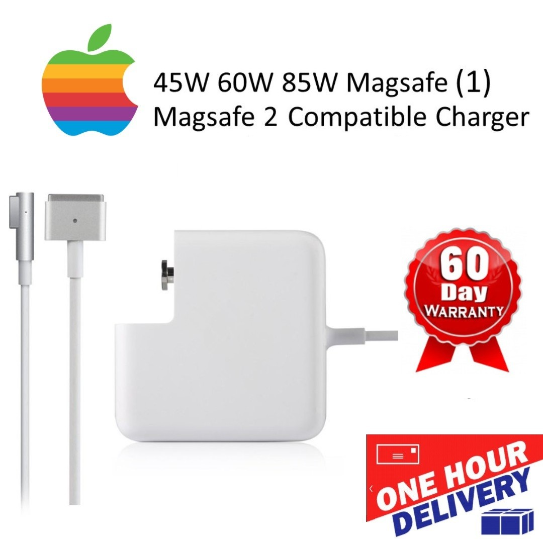 Magsafe 1 2 Macbook Charger 45w 60w 85w Electronics Apple A1343 Adapter Pro 15 Original Computer Parts Accessories On Carousell