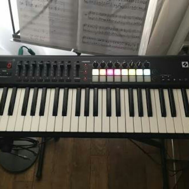Midi Controller Novation launchkey mk2 49 keyboard, Music & Media, Instruments on Carousell